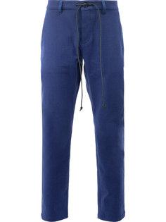 брюки с поясом на завязках Kazuyuki Kumagai