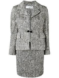 bouclé knit suit Christian Dior Vintage