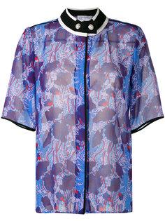 рубашка с воротником и цветочным принтом Carven
