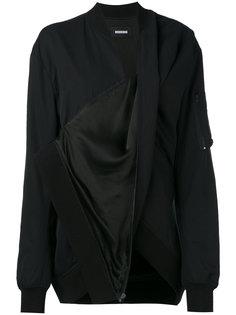 драпированная куртка-бомбер  Moohong