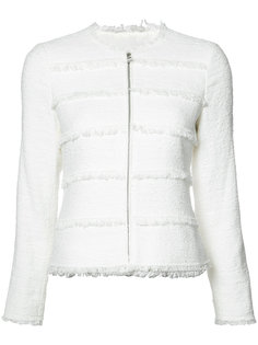 frayed trim jacket  Rebecca Taylor