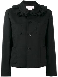 пиджак с оборкой на воротнике Comme Des Garçons Girl