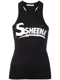 printed vest  Ssheena