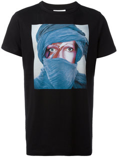футболка с изображением лица Les Benjamins