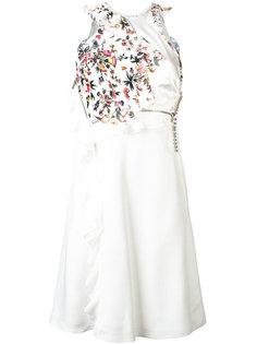 деконструированное платье с цветочным рисунком 3.1 Phillip Lim