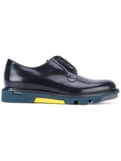 туфли Дерби на шнуровке Emporio Armani