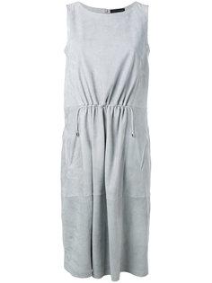 присборенное спереди платье Fabiana Filippi