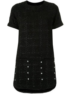 tweed shift dress Andrea Bogosian