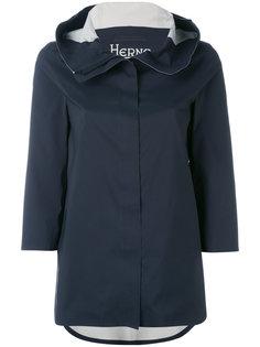 куртка с капюшоном и рукавами три четверти Herno