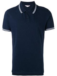 рубашка-поло с полосатой отделкой Orlebar Brown