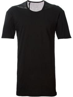 футболка  с сетчатой панелью сзади Boris Bidjan Saberi