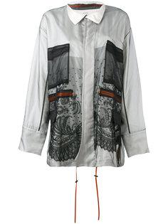 куртка с сетчатой отделкой Quetsche