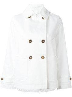 двубортная куртка прямого кроя Alberto Biani