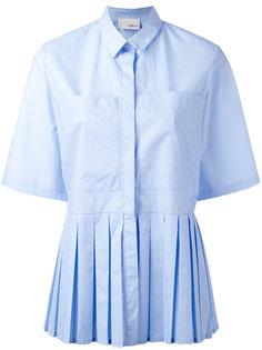 рубашка с короткими рукавами и плиссировкой Elaidi