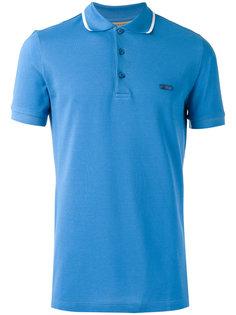 футболка-поло с контрастной отделкой Burberry