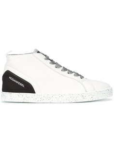 speckled sole lace-up sneakers Hogan Rebel