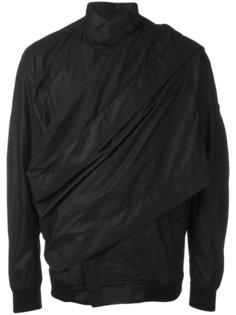 wrap front rain jacket Julius