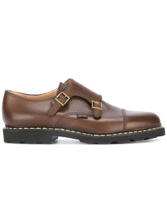 double-buckle monk shoes Paraboot