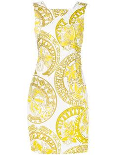 платье с цветочным принтом Versace Jeans