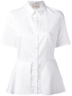 рубашка с короткими рукавами и баской Elaidi