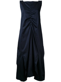 платье со сборкой спереди  Eudon Choi