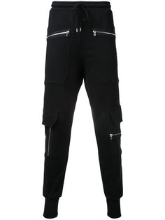 спортивные брюки с карманами на молнии Markus Lupfer