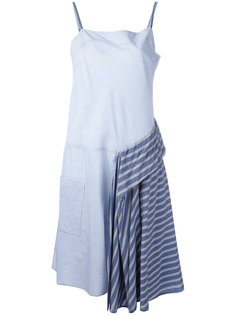 полосатое платье  Zucca