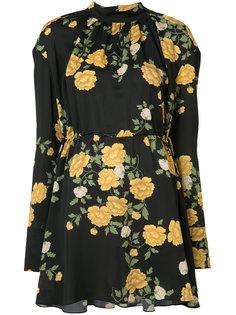 floral print dress Magda Butrym