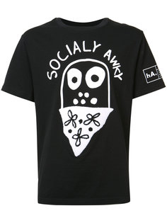 Socially Awky T-shirt Haculla