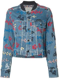 джинсовая куртка Grey Jason Wu