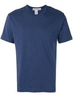 футболка с принтом-логотипом на спине Comme Des Garçons Shirt