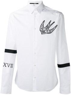 swallow print shirt  McQ Alexander McQueen