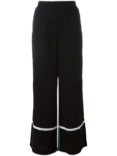 contrast flared pants  8pm