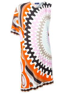 платье-шифт с узором Emilio Pucci