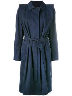 belted coat  Lutz Huelle