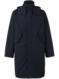 пальто с капюшоном Moncler