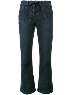 расклешенные джинсы Le Crop Mini Boot Frame Denim