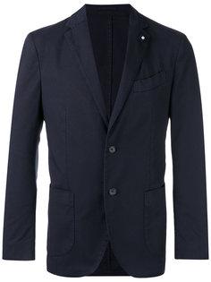 приталенный пиджак Lardini