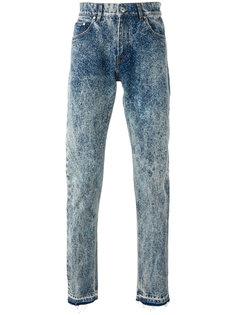 прямые выбеленные джинсы MSGM