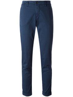 облегающие костюмные брюки Fay