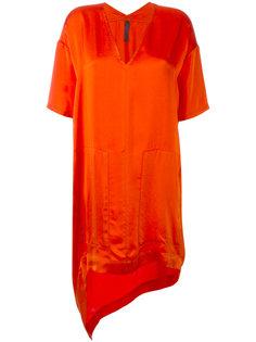 асимметричное платье-футболка Ilaria Nistri