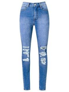 distressed high waist skinny jeans Amapô