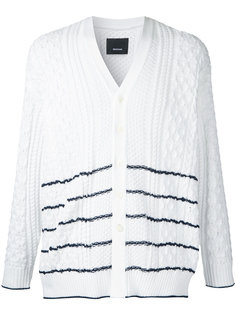 striped cable knit cardigan  08Sircus