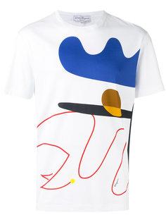 футболка с графическим принтом Salvatore Ferragamo