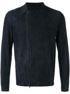 куртка с асимметричной молнией Salvatore Santoro