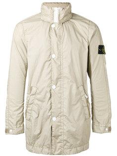 куртка с логотипом на рукаве Stone Island