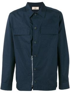 рубашка с деталью на молнии Maison Flaneur