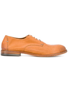 textured derby shoes Pantanetti