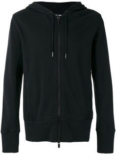 zipped hoodie  Blk Dnm