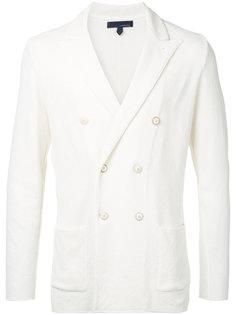 soft doubler-breasted blazer Lardini